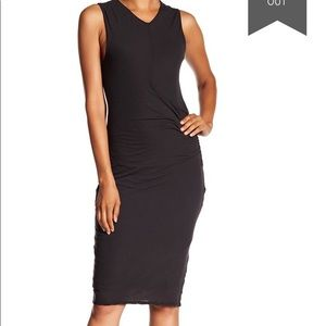 JAMES PERSE Side Draped Dress